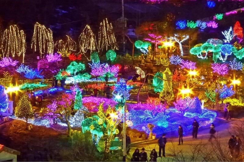 Lễ hội ánh sáng tại Đảo Herb, Gyeonggi-do