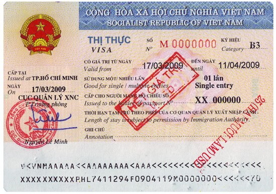 vietnam visa fee in south korea