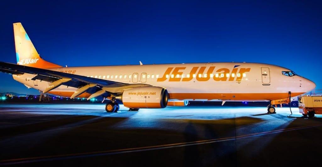 Jeju Air đã sở hữu đội bay gồm 20 chiếc Boeing 737-800 hiện đại