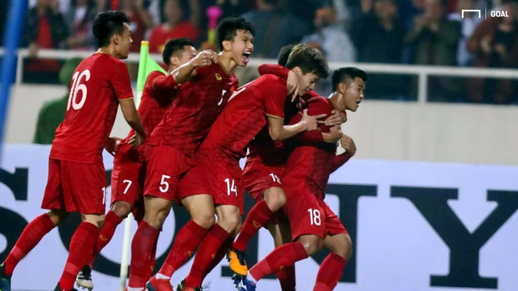 U23 Việt Nam đã vượt qua U23 Thái Lan để tiến thẳng vào VCK U23 châu Á