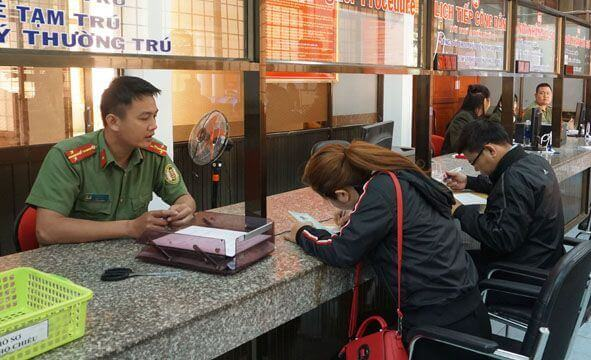 How can Korean citizens find Vietnam Immigration Department?
