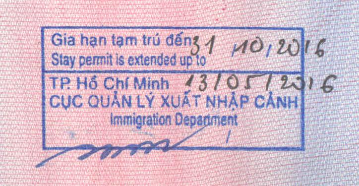 Vietnam Visa Extension For Korean Citizens
