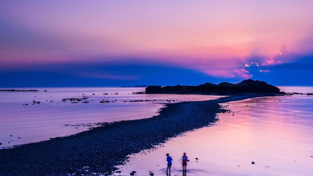 Penghu là một quần đảo ở eo biển giữa Đài Loan và đại lục Trung Quốc