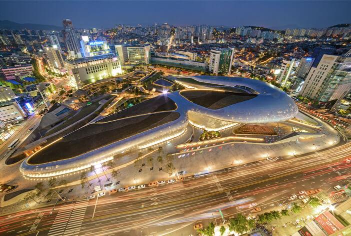 khu mua sắm Hàn Quốc