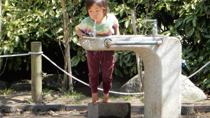 nước uống tại Nhật