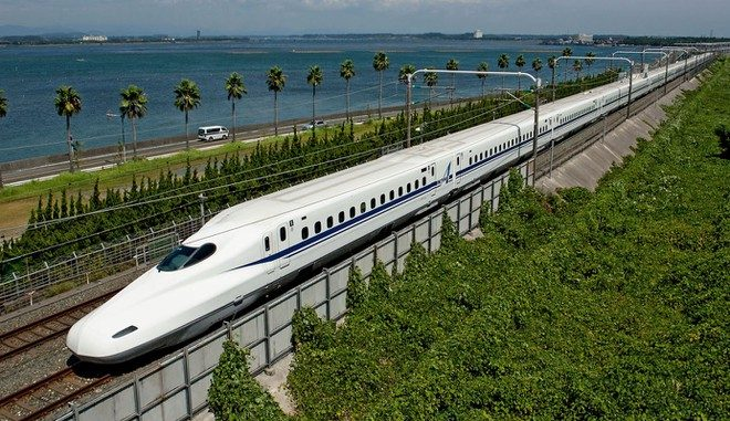 tàu cao tốc shinkanshen