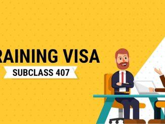 visa 407 Úc
