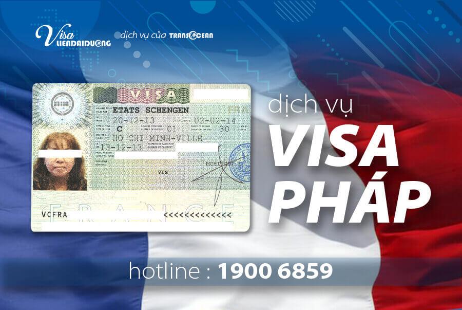 Dịch vụ xin visa Pháp uy tín