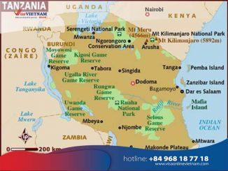 How to get Vietnam visa from Tanzania? - Visa vya Vietnam nchini Tanzania